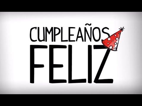 chanson joyeux anniversaire en espagnol