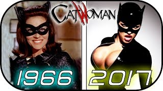 EVOLUTION Of CATWOMAN In MOVIES & TV SERIES (Selina Kyle) 1966 - 2017 -Batman-