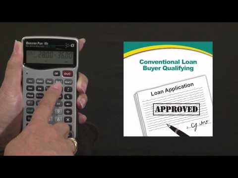 Qualifier Plus IIIx - Buyer Qualifying Conventional Loan