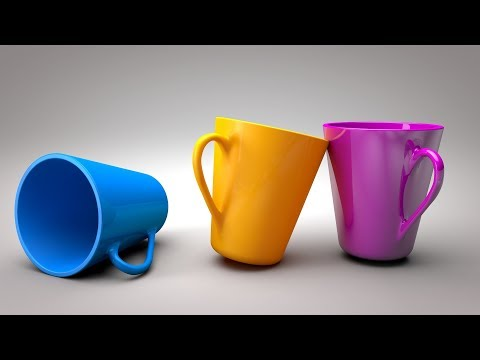 C4D Tutorial For Beginner – How To Make Cup