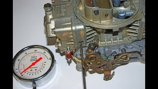 Set & Tune Holley Carburetor Idle Mixture & Idle Speed