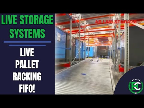 Live Storage Systems | 🚚 Live Pallet Racking FIFO 🚚 | Pallet Racking Suppliers
