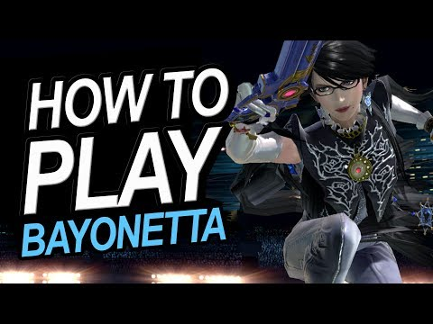 How To Play Bayonetta In Smash Ultimate