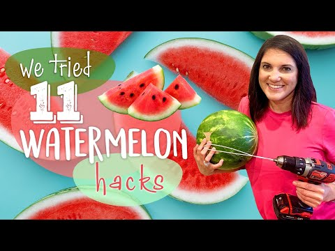 We Tested 11 Watermelon Hacks…Which Ones Actually Work? | We Tried It