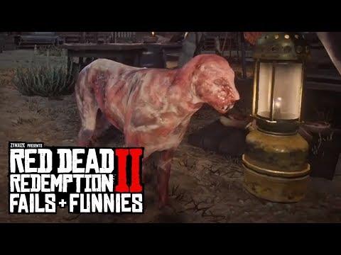 Red Dead Redemption 2 - Fails & Funnies #61