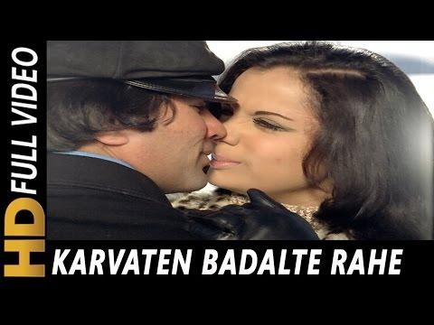 Download Karvaten Badalte Rahe Saari Raat Hum   Kishore Kumar, Lata Mangeshkar   Aap Ki Kasam 1974 Songs Mp4 HD Video and MP3