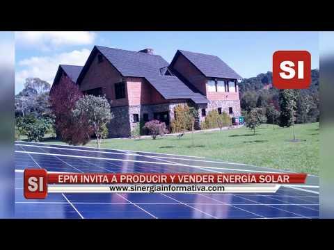 EPM INVITA A PRODUCIR Y VENDER ENERGÍA SOLAR