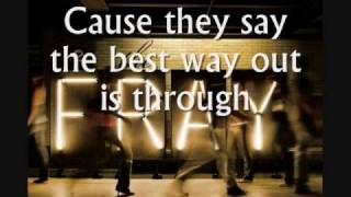 The Fray - Ungodly Hour - Lyrics