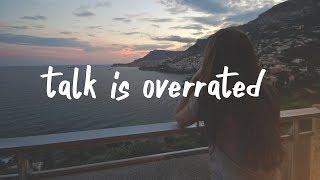 Jeremy Zucker   Talk Is Overrated (Lyric Video) Stripped.
