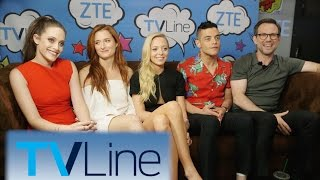Mr. Robot Interview   TVLine Studio Presented by ZTE   Comic-Con 2016