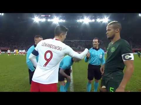 Poland vs  Nigeria Friendly