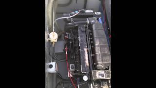 Mercruiser D4.2 diesel engine.