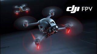 DJI FPV DRONE FIRST FLIGHT IN SPORT MODE