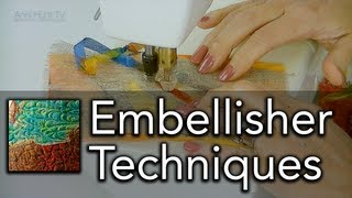 Machine Embellisher Techniques - AHTV-Q01 (HD)