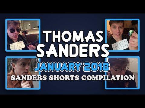 January 2018 SHORTS Compilation!!   Thomas Sanders