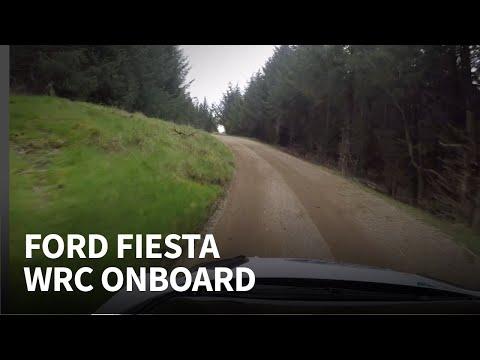 Flat out WRC 2019 onboard | Elfyn Evans testing his Ford Fiesta WRC