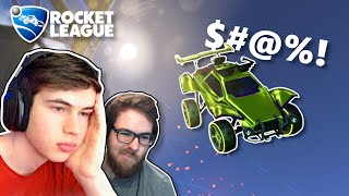 How I made the biggest Rocket League youtubers mad in ranked!
