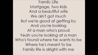 Family Life - Adam Harvey (Lyrics)