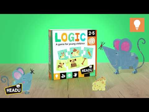 Youtube Video for Logic - 12 Mini Animal Puzzles