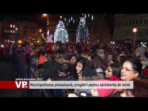 Municipalitatea ploieșteană, pregătiri pentru sărbătorile de iarnă