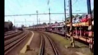 preview picture of video 'Warszawa Wschodnia - Praha hlavní nádraží (27/56)'