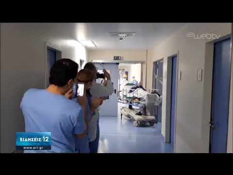 Άλλος ένας άνθρωπος στο Θριάσιο νοσοκομείο κατάφερε να κερδίσει τον κορονοϊό | 14/04/2020 | ΕΡΤ