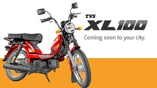 TVS XL 100 Launched in India for Rs 29539