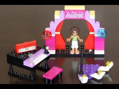 Vidéo LEGO Friends 3932 : Le concert d'Andréa