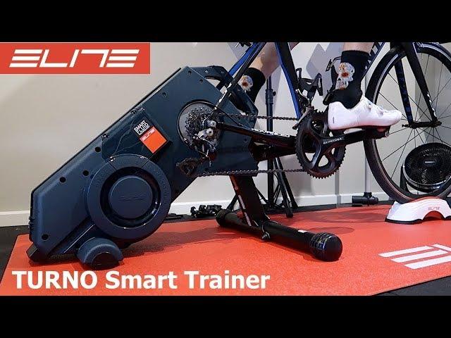 Видео Велотренажер Elite Turno Smart Fluid Trainer