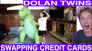 We Swapped Credit Cards For A Day reaction Tyler Wibstad