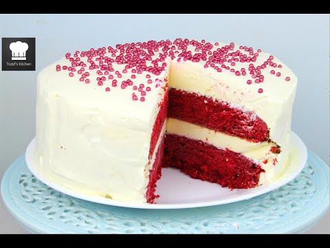 Video Red Velvet Ice Cream Cake