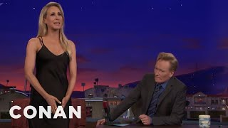 Nikki Glaser Compares Her Vagina To A Hastily Packed Suitcase  - CONAN on TBS