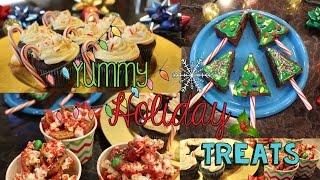 3 Yummy Holiday Treats! (#CRAFTMAS)