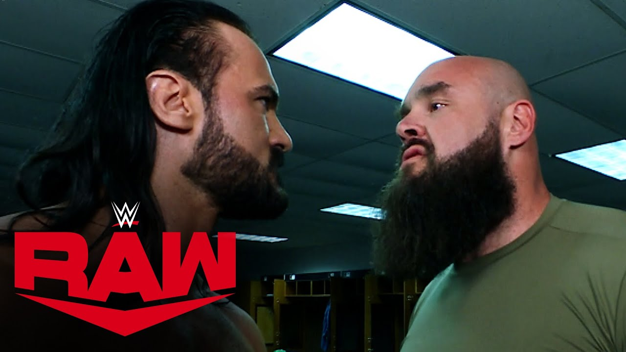 Drew McIntyre Goes To The WWE Locker Room Looking For A Fight