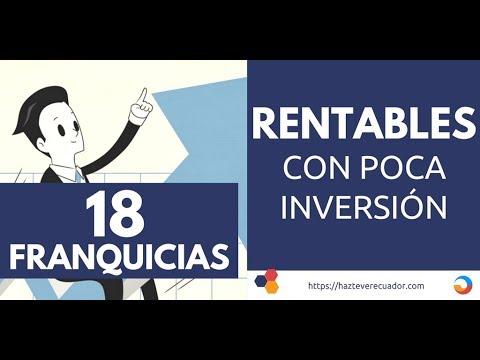 , title : '18 Franquicias Rentables Para Iniciar Tu Negocio Con Poca Inversión'