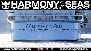 HARMONY Of The SEAS .. Captain & Friends