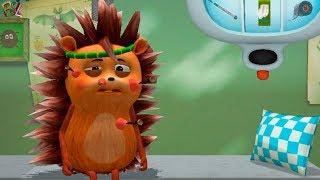Лесной Доктор ЛИСЁНОК ВЕТЕРИНАР Лечит животных развлекательный  мультик-игра Для Детей