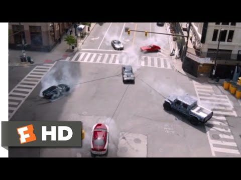 The Fate of the Furious (2017) - Harpooning Dom's Car Scene (6/10) | Movieclips