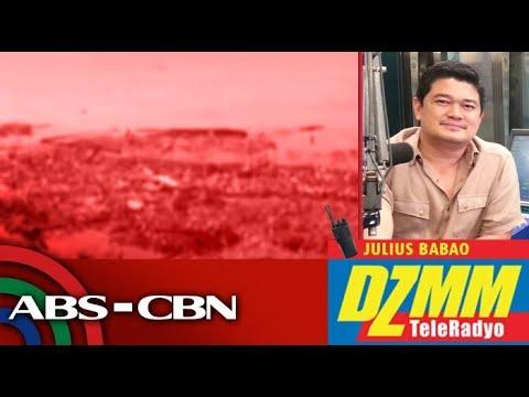 [ABS-CBN]  DZMM TeleRadyo: Manila Bay, tambak pa rin ng basura matapos ang cleanup drive