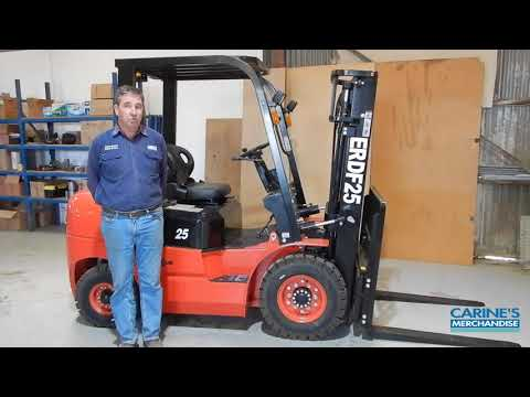 The new range of Everun forklifts – ERDF25