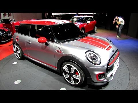 2015 Mini John Cooper Works Concept at 2014 Detroit Auto Show