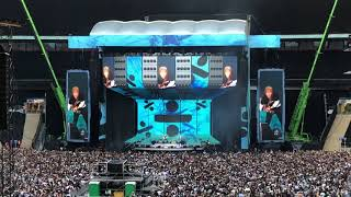 Ed Sheeran Opens With Castle on The Hill and Eraser Divide Tour Live at Wembley 14th June 2018