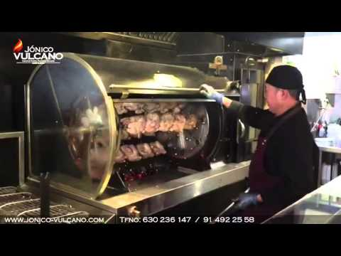 Asadores de pollo a la brasa . Jonico-Vulcano.com