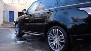 Spotless Detailing Range Rover Sport Autobiography Gtechniq Detail