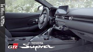 2020 Toyota Supra Interior (EU Spec)
