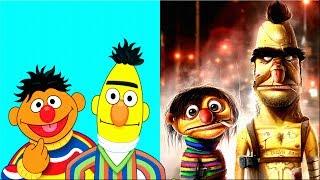 Cartoon Characters As Monsters   Cartoon Characters