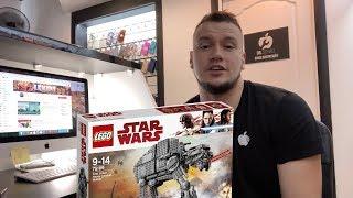 Анонс! LEGO Star Wars 75189 ШТУРМОВОЙ ШАГОХОД ПЕРВОГО ОРДЕНА