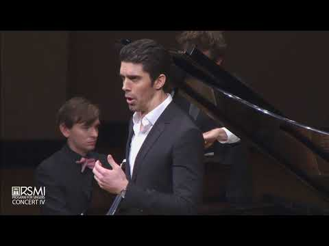 Alex Lawrence, baritone performs Mahler at the Ravinia Steans Institute for Singers, 2017