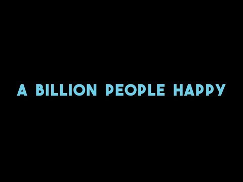 Join the Movement #onebillionhappy
