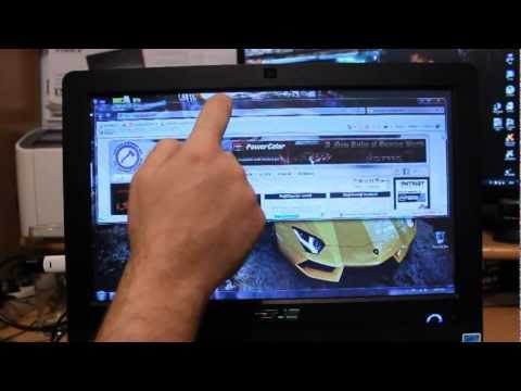 ASUS ET1612 All-in-One PC touch screen test [PCAXE.COM]